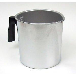 1lb Aluminum Mini Beeswax Melting Pot