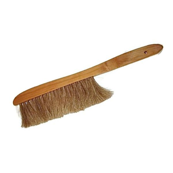 15-Inch natural horse hair bee brush