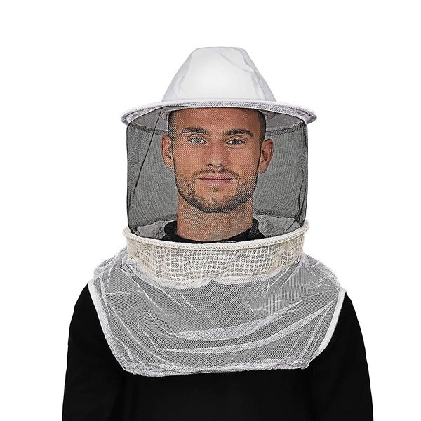 Humble Bee Aerated Beekeeping Veil with Round Hat