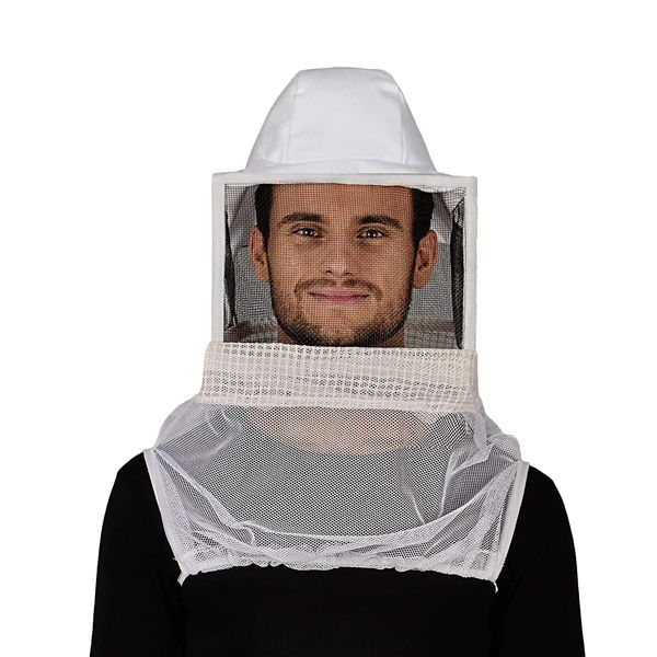 Humble Bee Aerated Beekeeping Veil with Square Hat