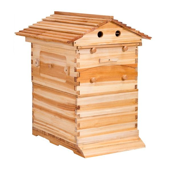 Wooden Flow Honey Automatic Beehive