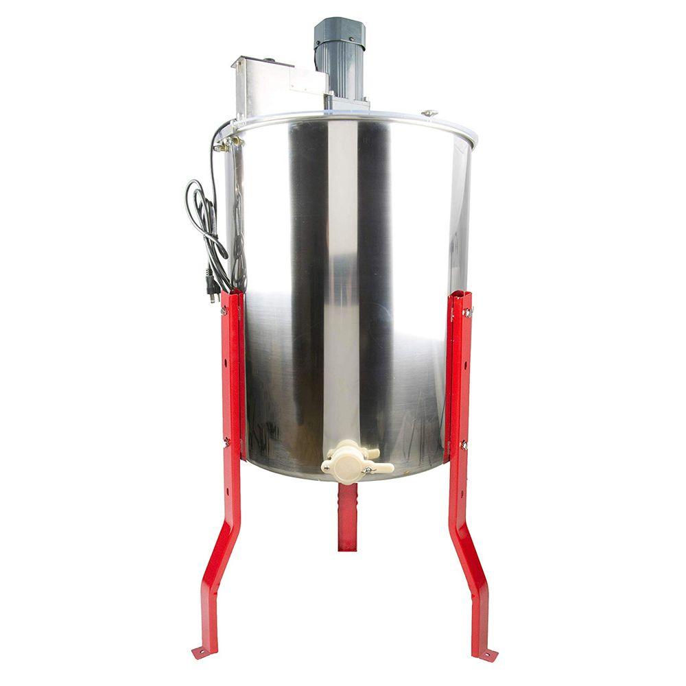 vivo bee-v004e 4 frame electric honey extractor