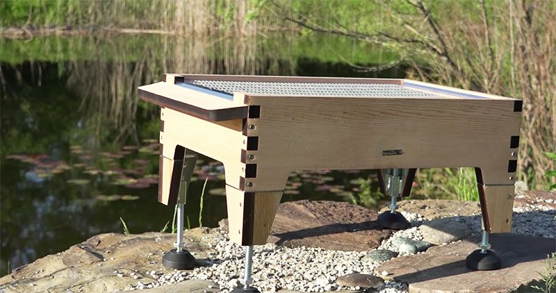 flow hive adjustable stand